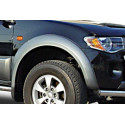Fender Flares For Mitsubishi L200 do 06 Dbl-Cab. Painted Grey