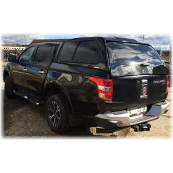Hardtop CKT Windows II pro Fiat Fullback 2016- DC