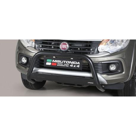 Přední ochranný rám vysoký průměr 63 mm - Fiat Fullback 16- FI 16 MED/406/PL