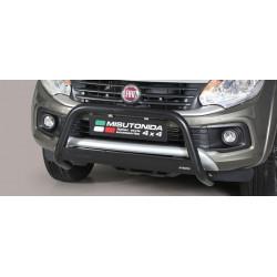 Přední ochranný rám vysoký průměr 63 mm - Mitsubishi L200 16- MI 16 MED/390/PL