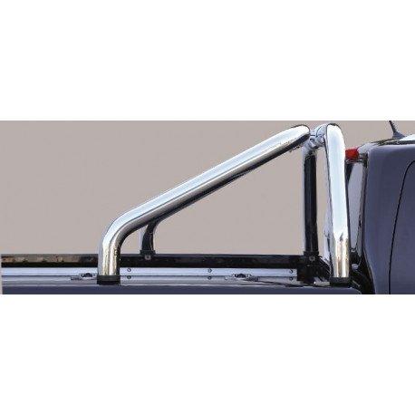 Nerezový rám korby single průměr 76 mm -  Mercedes X-class ME 16 RLSS/2428/IX
