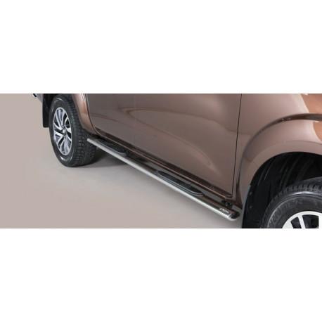Boční nášlapy oválné -  Nissan NP300 Navara NI 16 GPO/400/IX