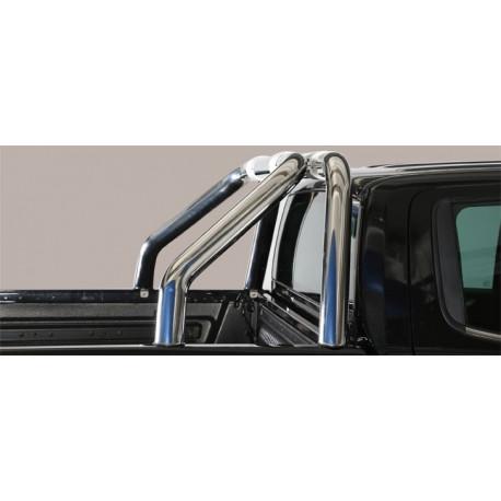 Nerezový rám korby design  76 mm -  Nissan NP300 Navara NI 16 RLD/400/IX