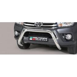 Přední ochranný rám průměr 76 mm - Toyota Hilux 16+ TO16EC/SB/410/IX