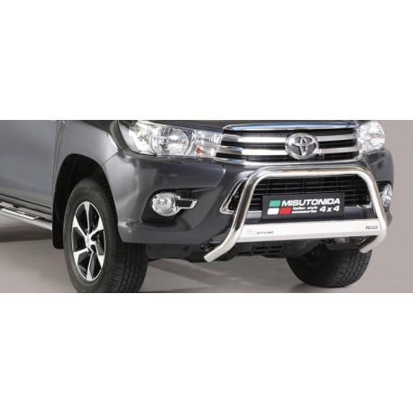 Přední ochranný rám  průměr 63 mm -  Toyota Hilux 16+ TO 16 MED/410/IX