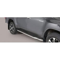 Nerezové boční nášlapy průměr 50 mm -  Toyota Hilux 16+ TO 16 P/410/IX