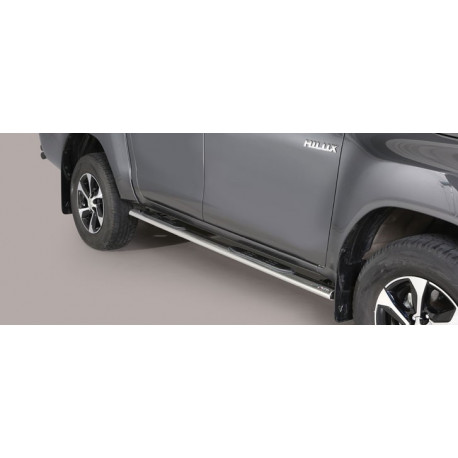Boční nášlapy oválné - Toyota Hilux 16+ TO16 GPO/410/IX