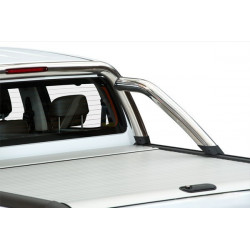 Mountain Top Aluminium Roll cover, silver Toyota Hilux Extra Cab
