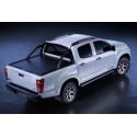 Mountain Top Aluminium Roll cover, black Ford Ranger Super Cab
