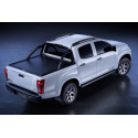 Mountain Top černá hliníková roleta pro Toyota Hilux DC