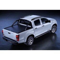 Mountain Top černá hliníková roleta pro Toyota Hilux Extra Cab