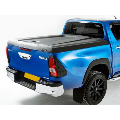 Aeroklas Speed cover, black grain ABS surface Toyota Hilux