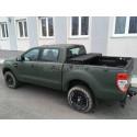Alpex Hard Tri-fold Cover Ford Ranger Super Cab