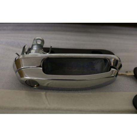 Klika se zámkem a klíči pro hardtop Road Ranger - Chrom - povrch