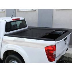 Mountain Top černá hliníková roleta pro Nissan Navara NP300 2015- King/Cab