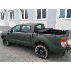 Třídílný skadací kryt - Toyota Hilux DC 2015-
