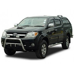 """přední ochranný rám z nerezu 2.5"""" Toyota Vigo- hilux"""