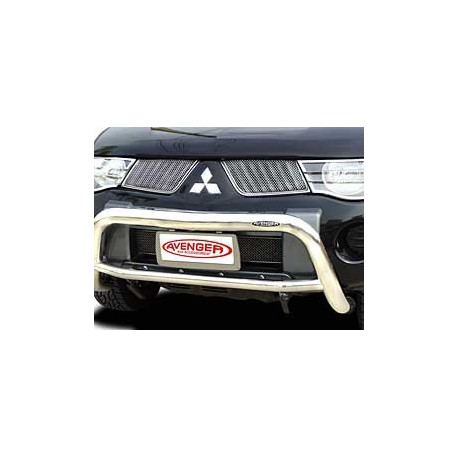 Sport Mesh Grille Stainless Steel for Mitsubishi L200.MK.5 (Triton)