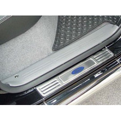 Nerezové kryty prahů Mitsubishi L200.MK.5 (Triton)