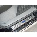Sill Plates Stainless Steel for Mitsubishi L200.MK.5 (Triton) - Nerezový kryt prahů