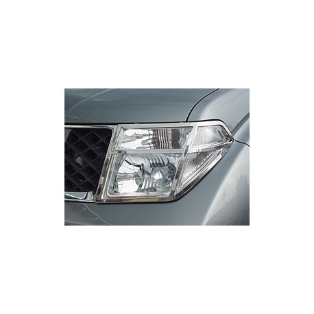 Head Light Guards Stainless Steel for Nissan Navara (D40)