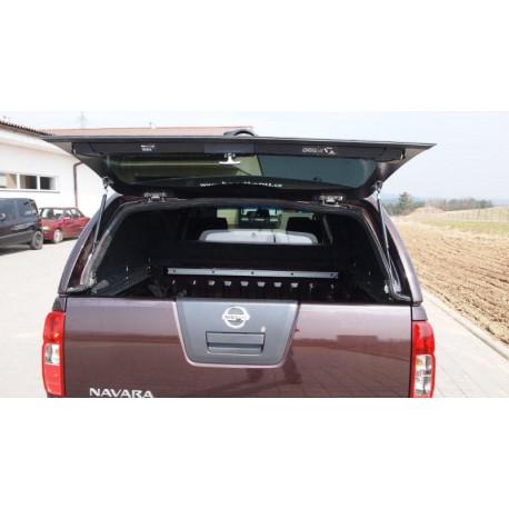 Samonosné sklo zadních dveří na hardtop CKT Nissan D40  Work I / Windows I