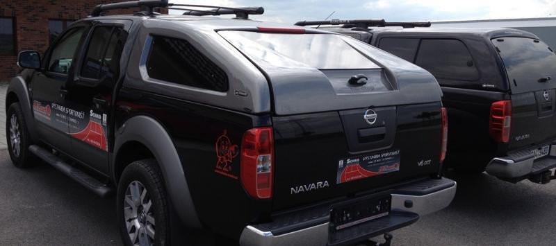 Hardtop CKT Sport pro Nissan Navara D40